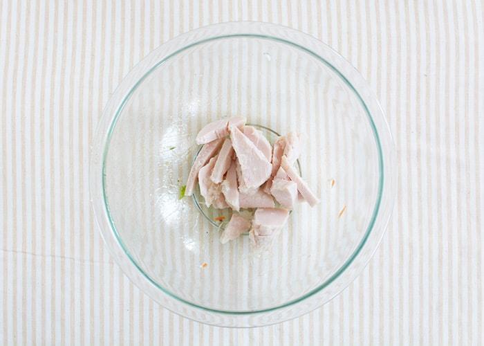 「おしゃれデリ風チキンサラダ」の作り方画像 4枚目