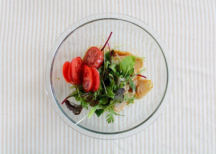 「トマトとチキンのアジア風デリ」の作り方画像 6枚目