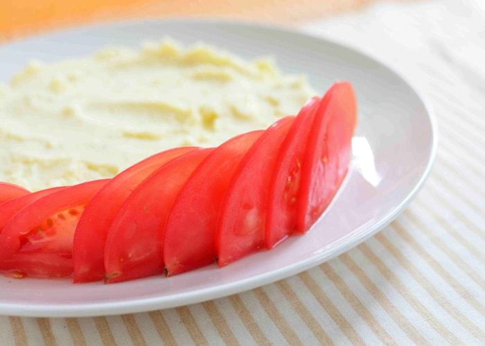 「かわいすぎて食べられない! サラダケーキ」の作り方画像 4枚目