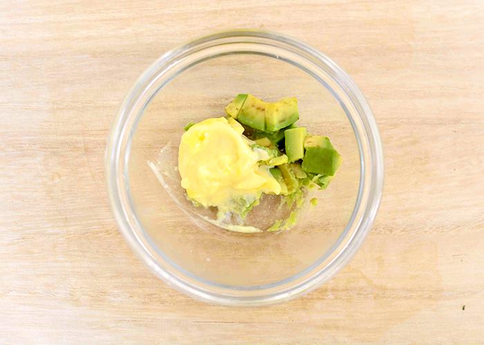 「殻つきホタテのアボカドレモン」の作り方画像 4枚目