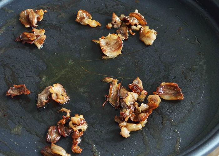 「「焼きすき」のシメの「炒めご飯」」の作り方画像 1枚目