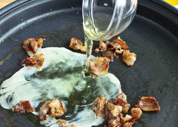 「「焼きすき」のシメの「炒めご飯」」の作り方画像 2枚目