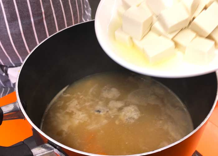 「サンマのふわふわつみれ汁」の作り方画像 6枚目