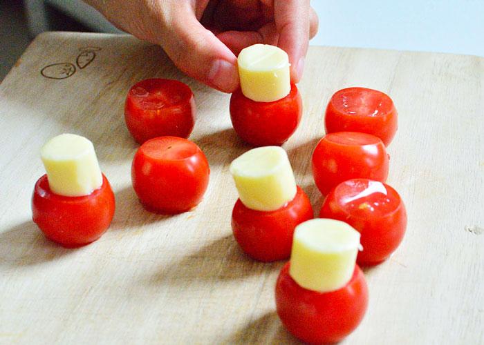 「色んな表情がかわいい! トマチーゴースト」の作り方画像 2枚目
