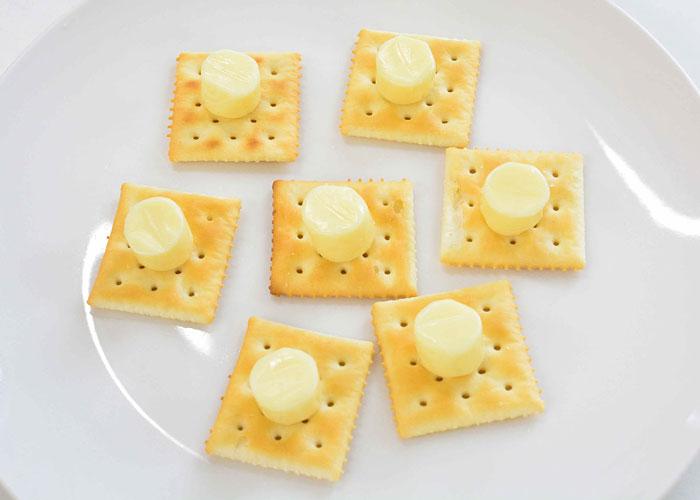「ゆる~くとろける、ちいさなチーズおばけ☆」の作り方画像 1枚目