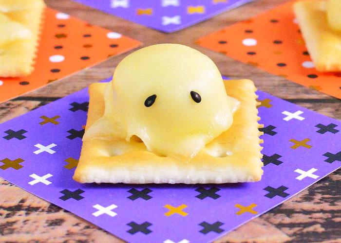 「ゆる~くとろける、ちいさなチーズおばけ☆」の作り方画像 3枚目