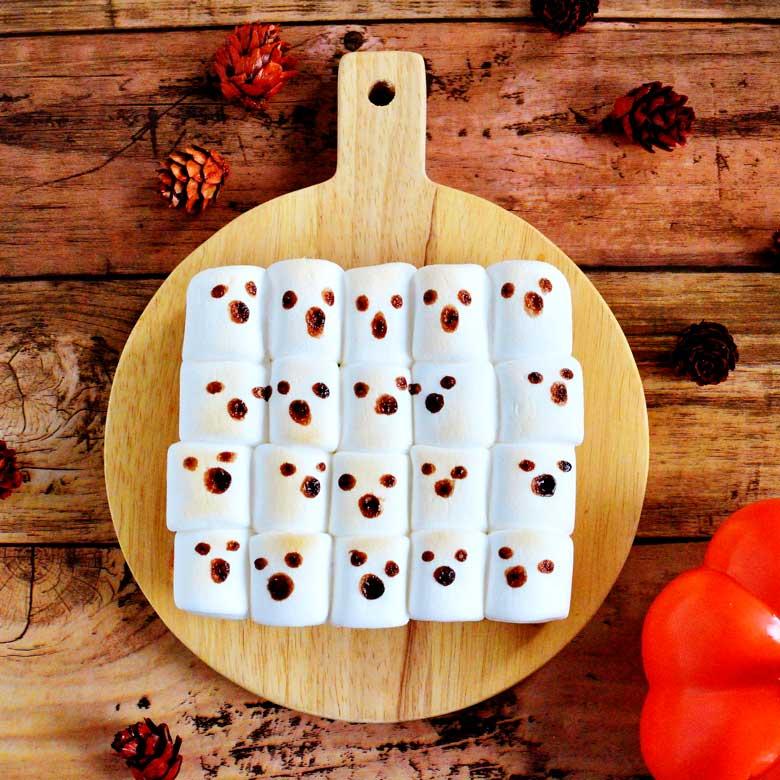 ぎゅうぎゅうゴーストトーストの写真