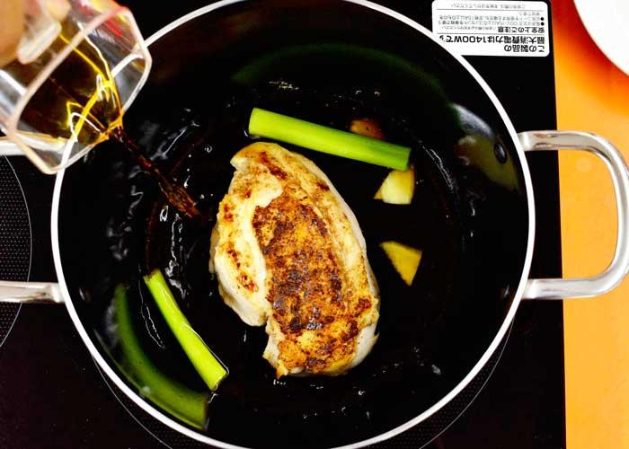 「柔らか鶏のジューシーチャーシュー」の作り方画像 3枚目