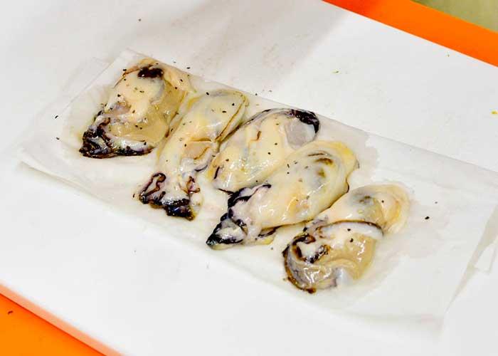 「大葉香るプリプリ牡蠣丼」の作り方画像 1枚目
