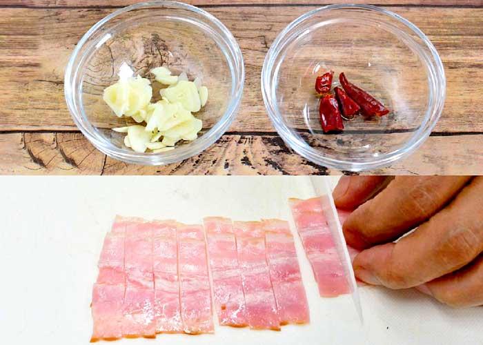 「牡蠣とトマトのアラビアータ」の作り方画像 2枚目