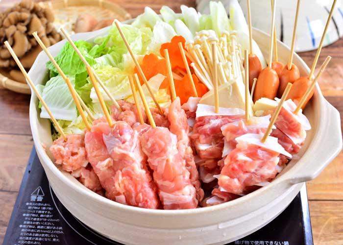「焼き鳥串で簡単☆ いろいろ串鍋☆」の作り方画像 4枚目