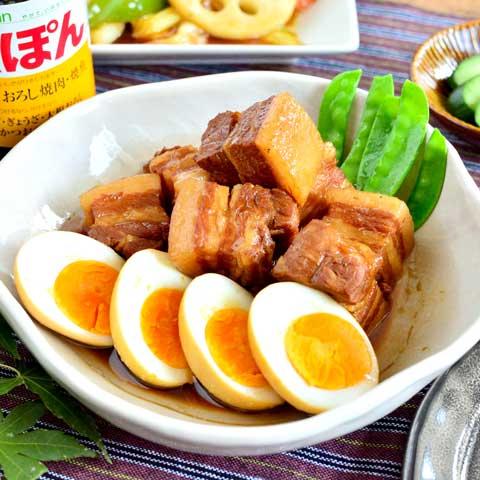 お肉ほろほろ♡ 豚バラ肉のさっぱり煮