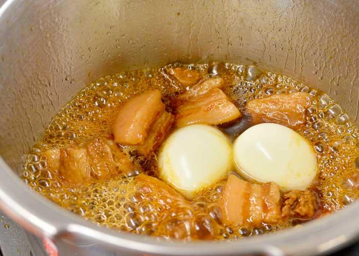 「お肉ほろほろ♡ 豚バラ肉のさっぱり煮」の作り方画像 5枚目