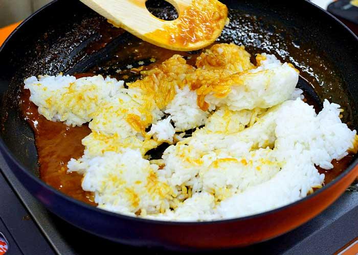 「炊いたご飯で簡単スピーディー☆ 旨味凝縮パエリア」の作り方画像 5枚目