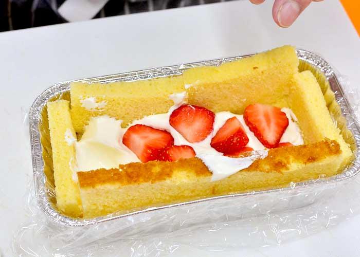 「カステラで超簡単! 失敗しないデコレーションケーキ♪」の作り方画像 4枚目
