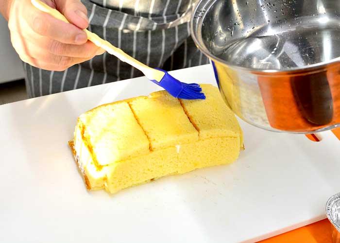 「カステラで超簡単! 失敗しないデコレーションケーキ♪」の作り方画像 6枚目