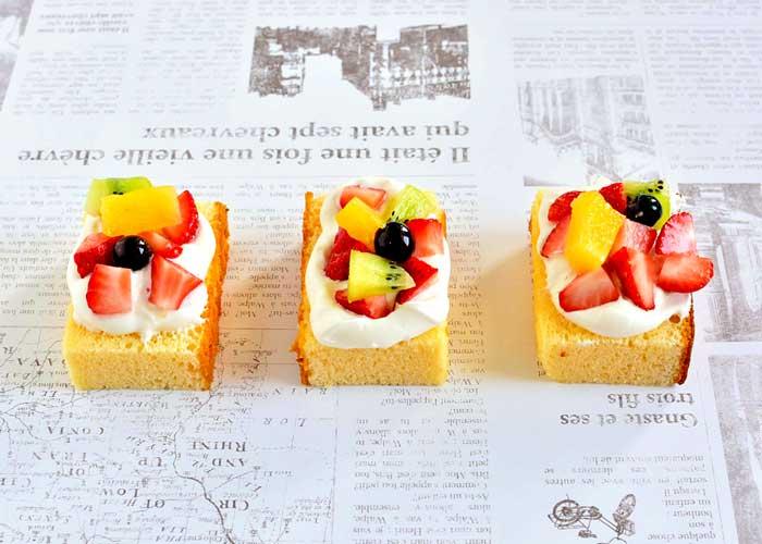 「カステラで、かわいいミニケーキ♡」の作り方画像 3枚目