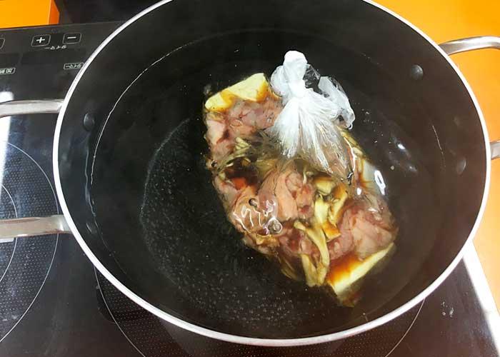 「固くならない! 味染み肉豆腐!!」の作り方画像 4枚目
