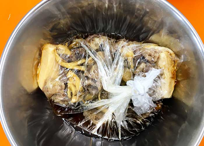「固くならない! 味染み肉豆腐!!」の作り方画像 5枚目