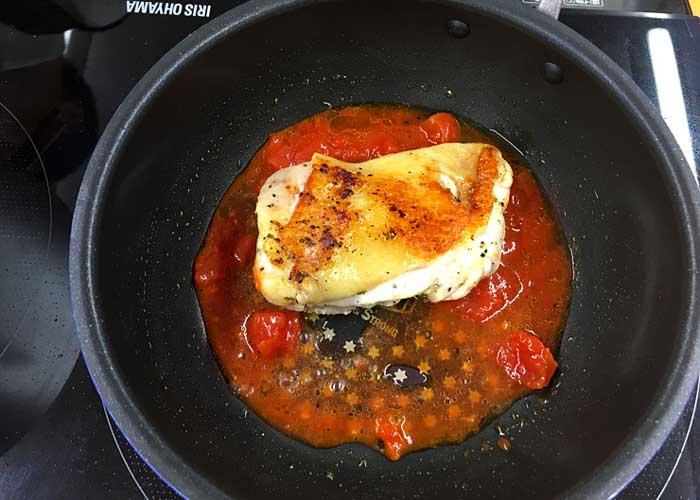「お肉ふっくらプリップリ! 鶏のハーブソテー」の作り方画像 5枚目