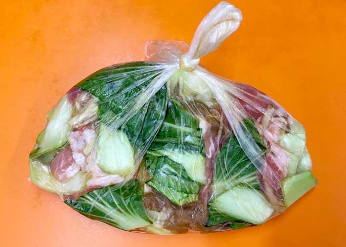 「豚肉とチンゲン菜のやわらか中華煮」の作り方画像 3枚目