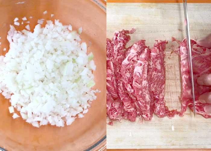 「ひき肉を使わずやわらかハンバーグ」の作り方画像 1枚目