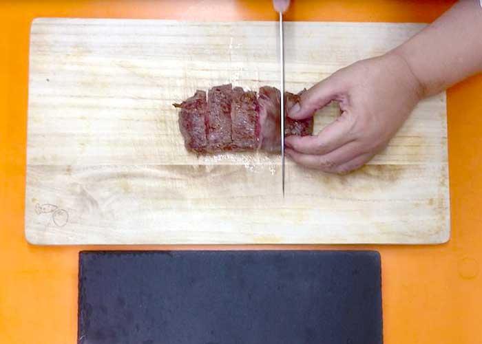 「牛肉切り落としで作る絶品ステーキ!」の作り方画像 5枚目