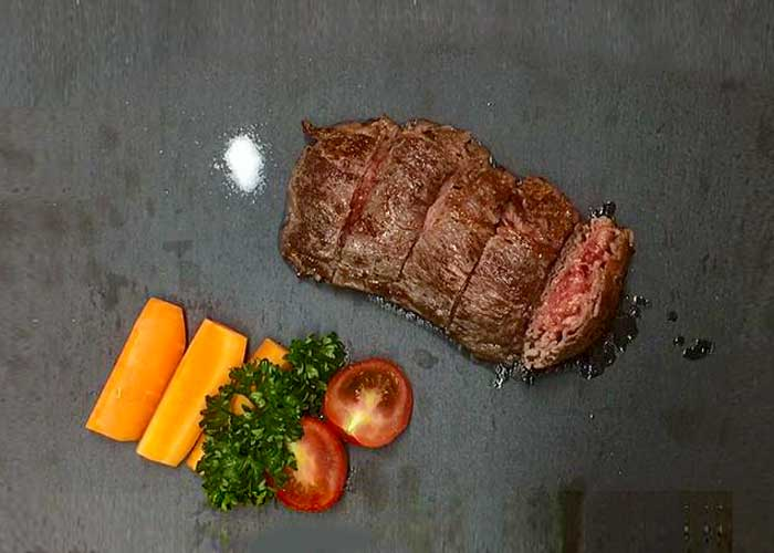 「牛肉切り落としで作る絶品ステーキ!」の作り方画像 6枚目