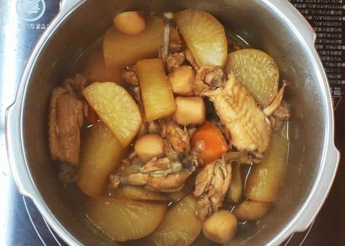 「ほっこり味しみ♪ 手羽中の煮物」の作り方画像 5枚目