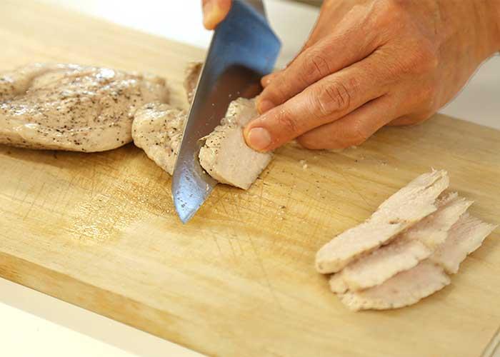 「アイラップで作る誰よりもジューシーな鶏ハム」の作り方画像 5枚目