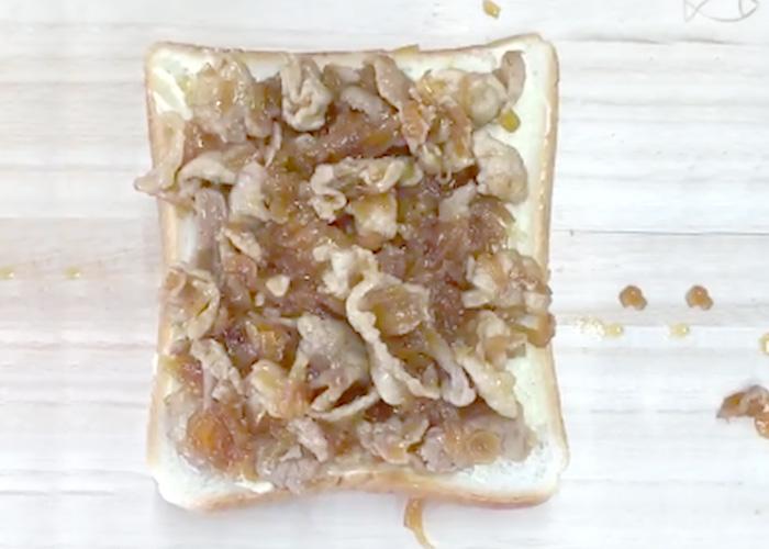 「CUPCOOK®プルコギで作る、厚切りチーズトースト」の作り方画像 4枚目