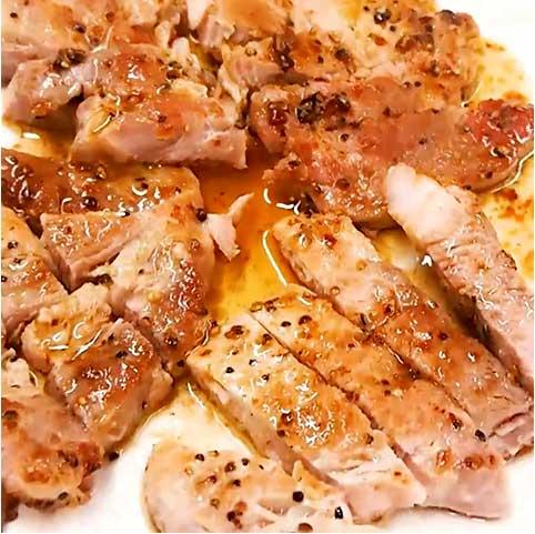 Donkiステーキのおいしい食べ方 ~豚肉編