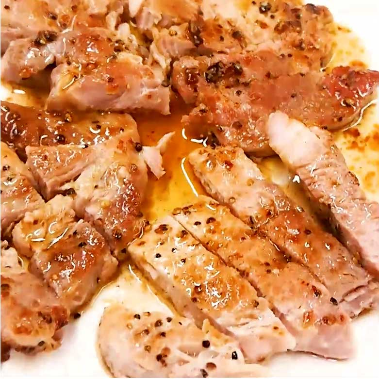 Donkiステーキのおいしい食べ方 ~豚肉編の写真