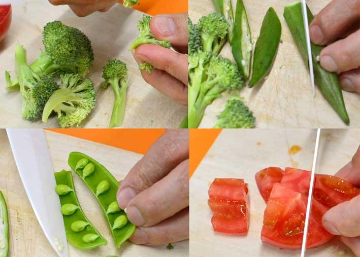 「バジル香るトマトソースのフレッシュスパゲッティ」の作り方画像 1枚目