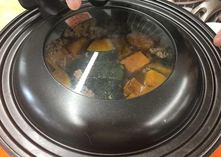 「ホクホク♪ 美味しい! かぼちゃそぼろ煮」の作り方画像 4枚目