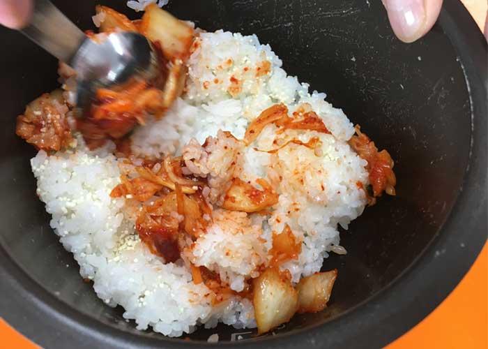 「お箸が止まらない!! ガッツリ食べたい時の牛カルビビビンバ丼!!」の作り方画像 5枚目