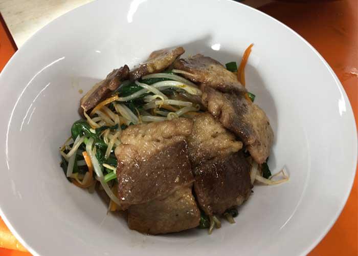 「お箸が止まらない!! ガッツリ食べたい時の牛カルビビビンバ丼!!」の作り方画像 6枚目