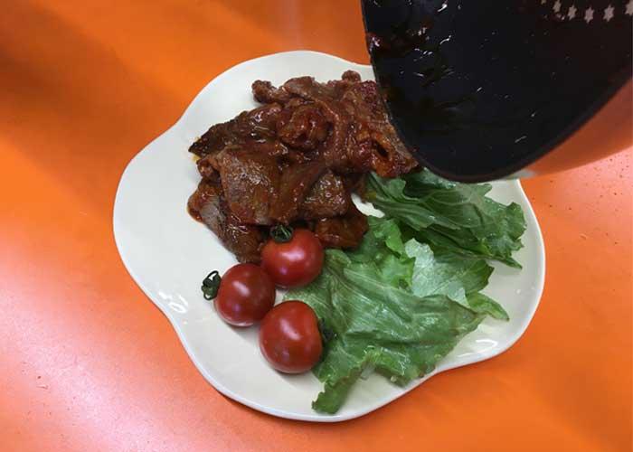 「爽やかな甘みが美味しい☆ 牛肉のケチャップ炒め!」の作り方画像 4枚目