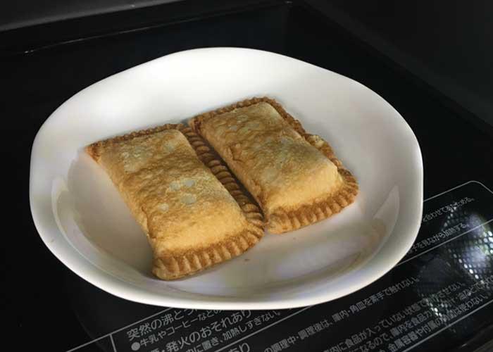 「カフェ風♪ 熱々アップルパイとミックスベリーのコンポート添え♡」の作り方画像 1枚目