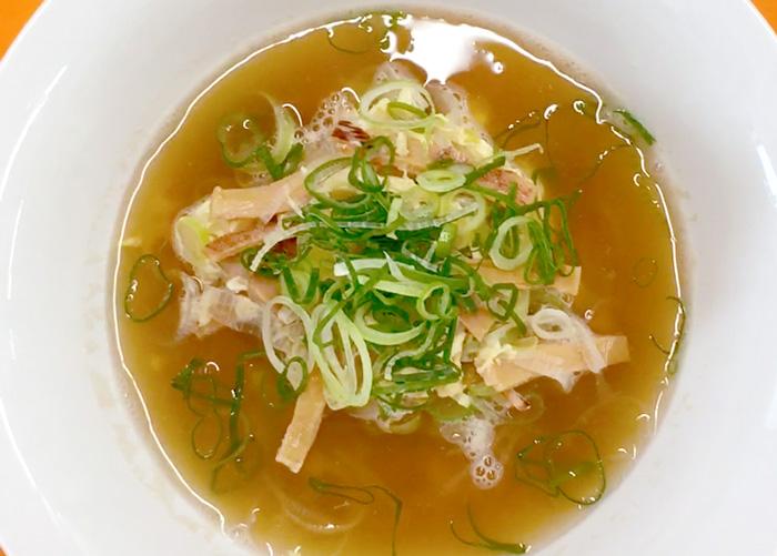 「おだしたっぷり! あたりめのスープ♪」の作り方画像 4枚目