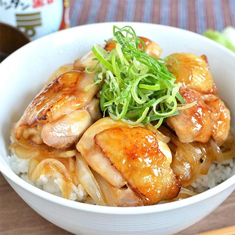 カンタン黒酢で作る、お肉ふっくら甘酢丼☆