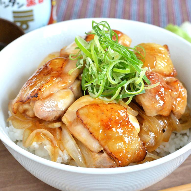 カンタン黒酢で作る、お肉ふっくら甘酢丼☆の写真
