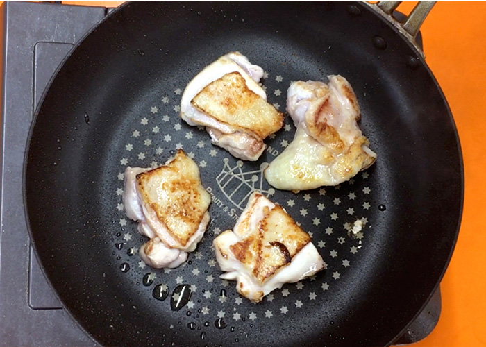 「カンタン黒酢で作る、お肉ふっくら甘酢丼☆」の作り方画像 3枚目