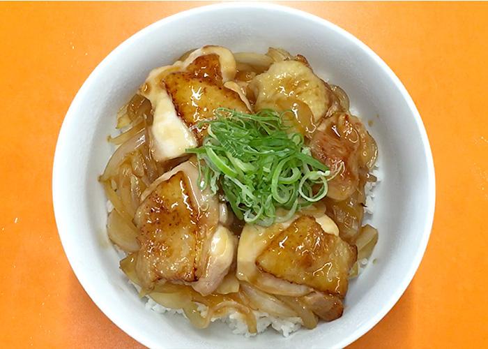 「カンタン黒酢で作る、お肉ふっくら甘酢丼☆」の作り方画像 5枚目