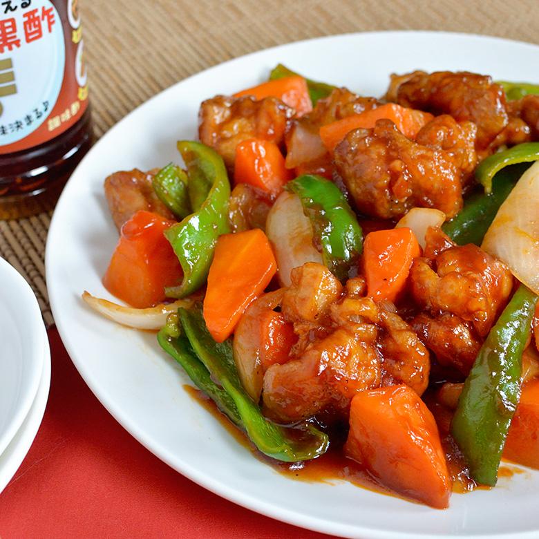 カンタン黒酢で作る、甘いソースのまろやか酢鶏☆の写真