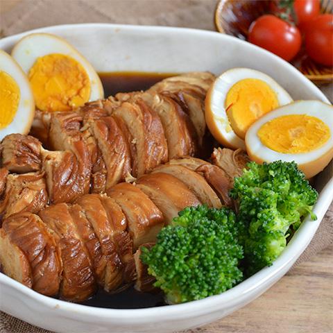 冷めてもOK! カンタン酢で作るやわらか鶏チャーシュー