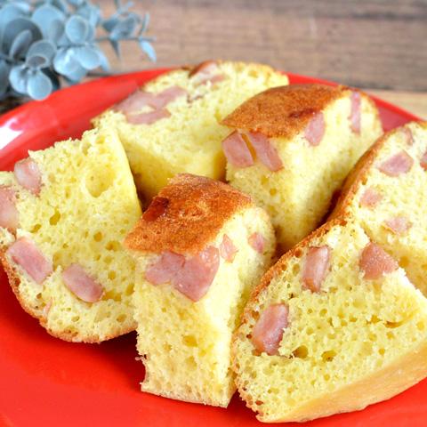 炊飯器でカンタン! しっとり美味しい♪ ウィンナーケーキ
