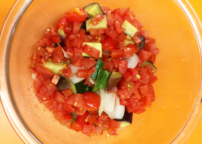 「レンジで時短! 野菜の旨みぎゅっとラタトゥイユ」の作り方画像 5枚目