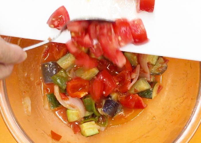 「レンジで時短! 野菜の旨みぎゅっとラタトゥイユ」の作り方画像 6枚目