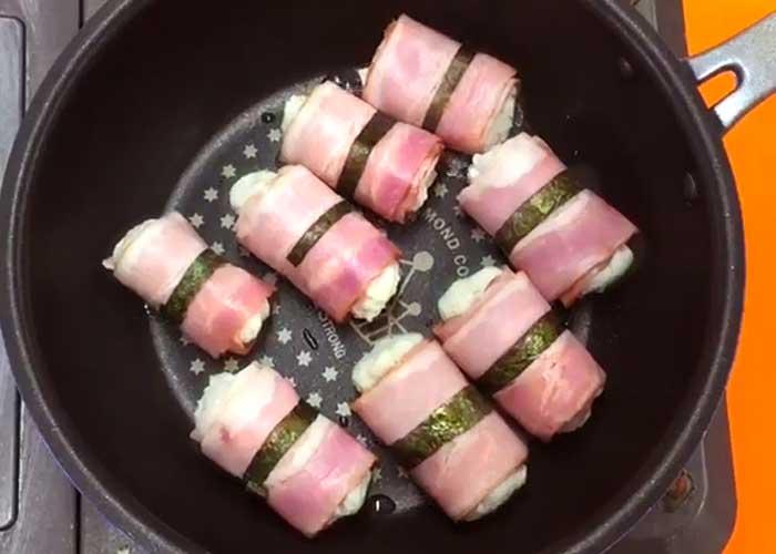 「ピリ辛!食感がクセになる里芋ベーコン」の作り方画像 4枚目